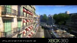 Wheelman - Graphics comparison - PS3 / XBOX360