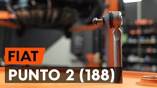 Tie rod end installation FIAT PUNTO: video manual