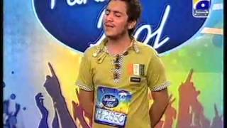 Shahid Ali Sonoo in  Pakistan Idol Karachi Auditions