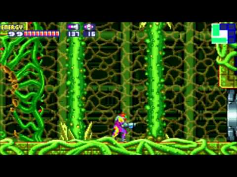 Metroid Fusion - All boss battles