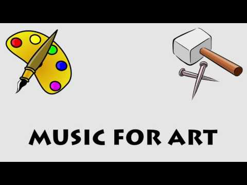 Music for Art - 1 Hour of Music for Artists