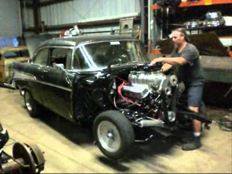 1957 Chevrolet Black Widow Jack Smith Car 47 Doovi