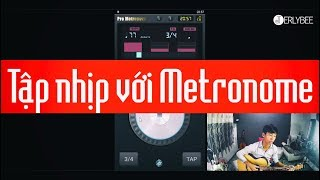 "Video#2.1 ""Tập nhịp với App Pro Metronome"" | #HGCJ"