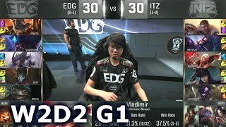 Baixar - Edg Vs Itz Worlds 2016 W2d2 Group C Lol S6 World Championship Week 2 Day 2 Intz Vs Edg Grátis