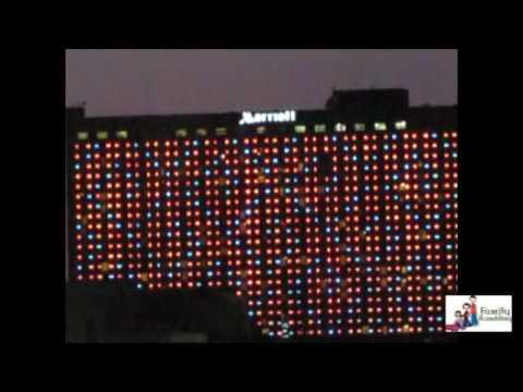 Downtown Marriott Light Show; Kansas City & Downtown Marriott Light Show; Kansas City - YouTube azcodes.com