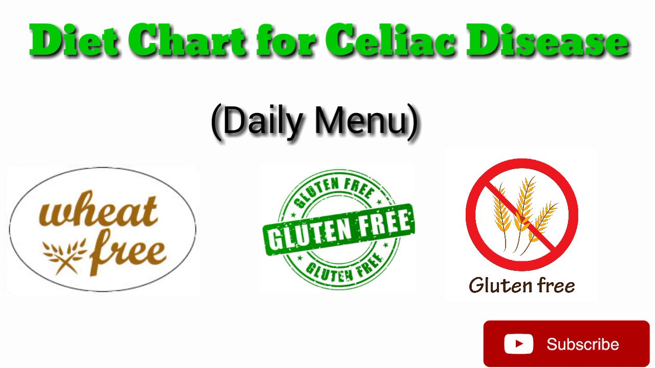 Gluten Free Diet Chart for Celiac Patients - YouTube