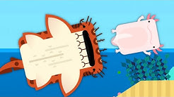 This Crazy New Shark Destroys Everything In Deeeep.io