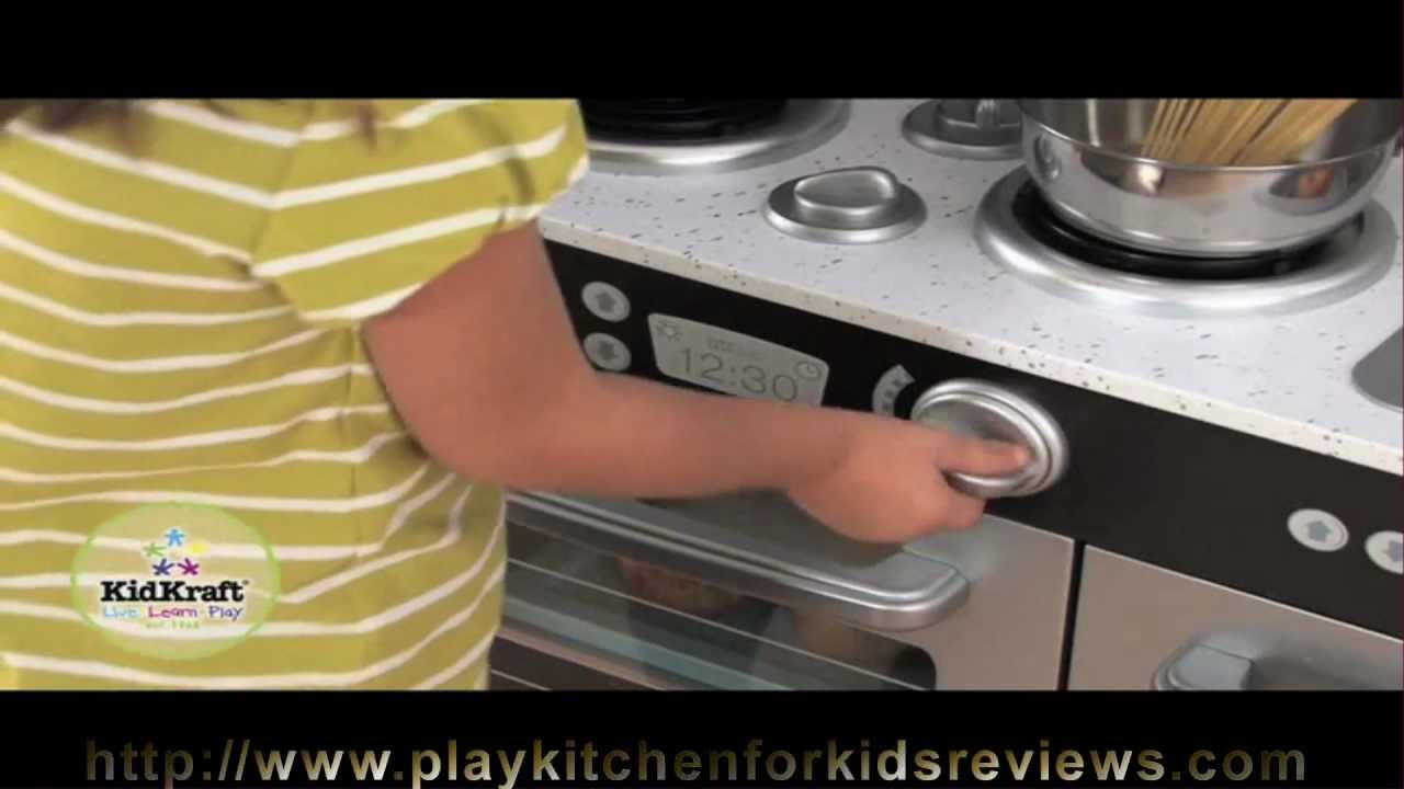 kidkraft uptown espresso kitchen 53260 review review how to play