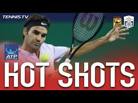 Hot Shot: Calmly Does It For Federer At Shanghai 2017