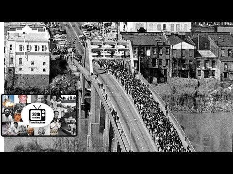 The Bloody Sunday Events of 1965. Selma to Montgomery March