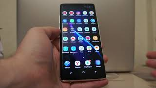 Новый Samsung Galaxy Note 8 за 15000 рублей (live demo unit)
