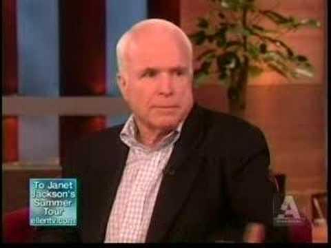Ellen Degeneres Vs. John McCain: Gay Marriage