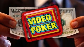 Amazing Secret To Winning At Video Poker - Without A Strategy!