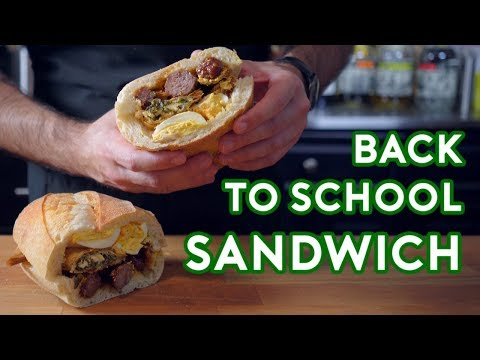 Binging with Babish: Hors Doeuvres Sandwich from Back to School