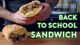 Download Binging with Babish: Hors D'oeuvres Sandwich from Back to School Mp3 and Videos