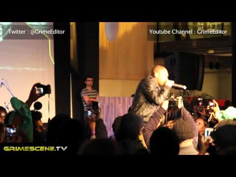 Kano Get Wild - Live performance 2011 at Industry Takeover urban development