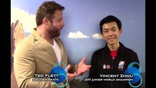 2017 Golden Skate Interview with Vincent Zhou