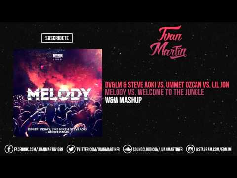 Melody vs. Welcome To The Jungle (W&W Ultra Mashup)