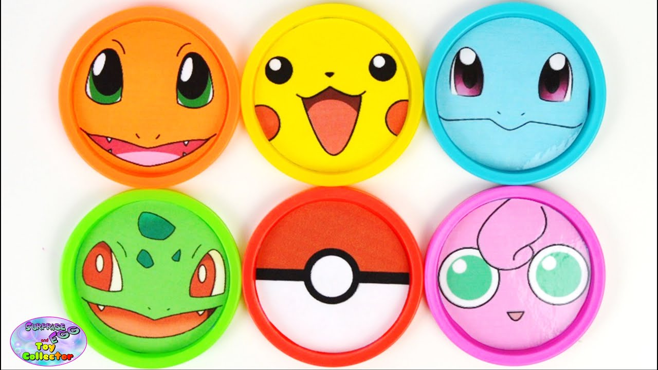 learn colors  pokemon pikachu finding dory mlp toys