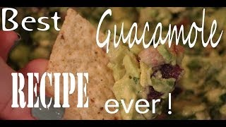 Easy Guacamole Recipe! Thumbnail