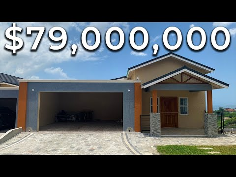 $79,000,000 HOUSE FOR SALE in Kingston Jamaica | HOUSE TOUR in JAMAICA