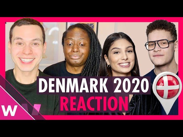 Denmark Eurovision 2020 reaction   Ben & Tan - YES