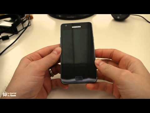 Test Samsung Galaxy S2 - Partie 1