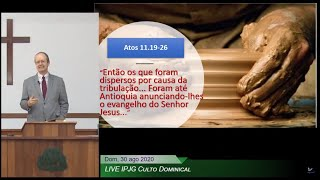 LIVE IPJG Culto Dominical