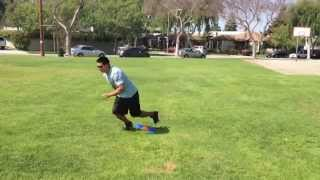 Footwork Drills: Scissor Hops | Sweat City Athletic Performance Training
