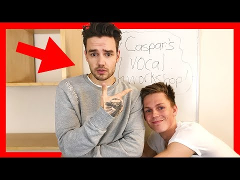 LIAM PAYNE LEARNS TO SING w/ Caspar Lee