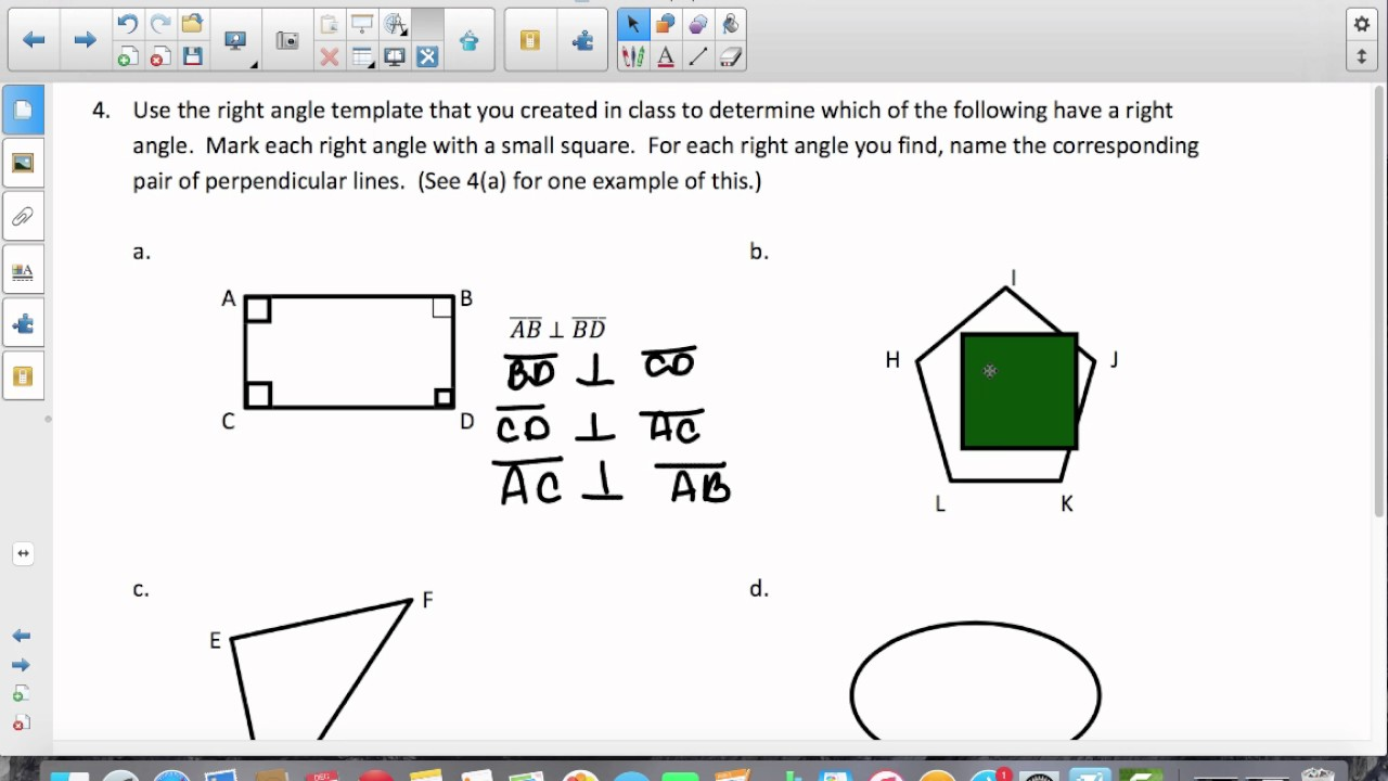 medium resolution of Perpendicular Lines (examples
