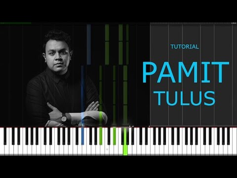 TULUS - PAMIT - Easy Piano Tutorial Step By Step - [ INTRO ] PART 1