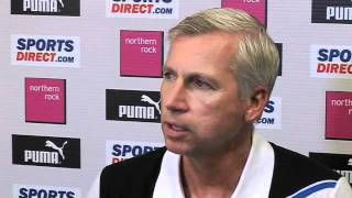 Alan Pardew on Barton and Ranger bans