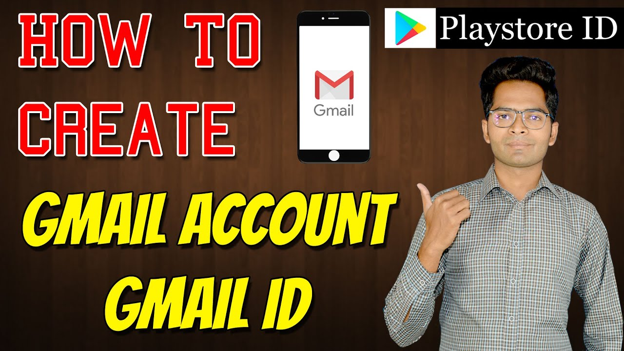 How to Create Gmail Account / Gmail ID in Mobile Phone 2020