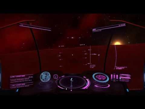 Elite: Dangerous Alliance Base in the California Nebula!