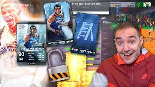 NBA Live 18 Ultimate Team MASTER RUSSELL WESTBROOK! FREE 90 OVERALL CARD! THIS IS TOO NICE!