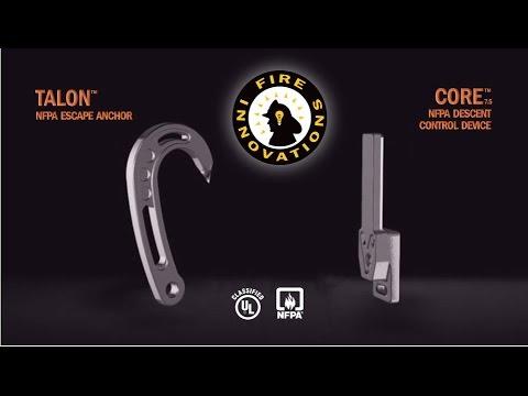 Fire Innovations TALON Escape Anchor & CORE Descent Control Device