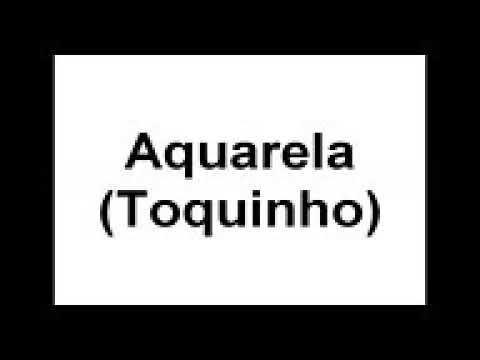 Aquarela Toquinho Na Flauta Doce Com Notas