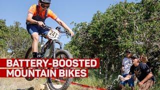 Electric mountain bikes are racing ahead