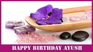 Ayush   Birthday Spa - Happy Birthday AYUSH