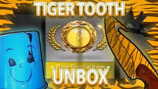 CS:GO GUT KNIFE TIGER TOOTH UNBOX