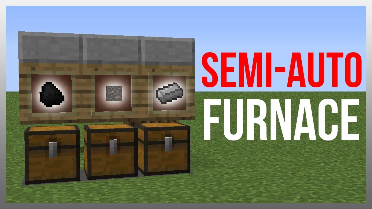 Minecraft 1.12: Redstone Tutorial - Best Semi-Automated ...