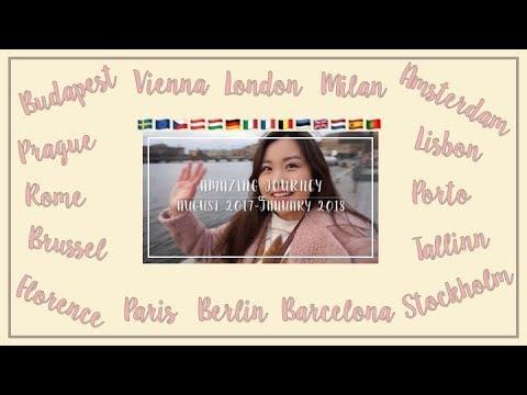 19 European cities travel highlights // 19도시 유럽여행 하이라이트 (HD)🦄