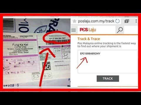 Poslaju Tracking 4 Langkah Mudah Semak Status Penghantaran