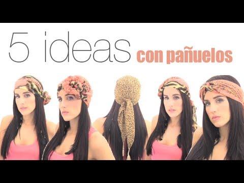 5 formas de usar pañuelos en la cabeza