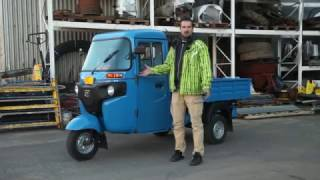 Bajaj Maxima C | Два колеса