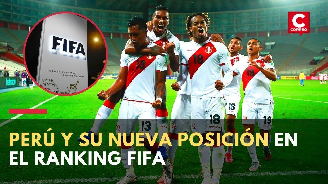 Eliminatorias Qatar 2022: Selección peruana y su nuevo puesto en el ranking FIFA