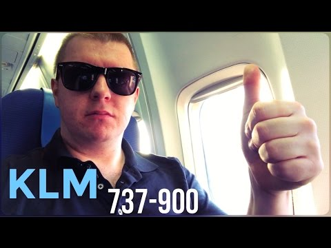 KLM Economy, 737-900 : London Heathrow to Amsterdam