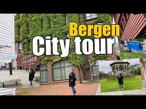 City tour Bergen | walking around in bergen