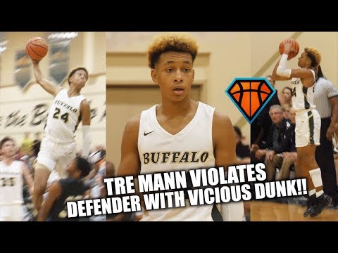 Tre Mann VIOLATES Defender on His Way to a 35-Piece!!   Baby Steph with Bounce??